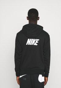 Nike Sportswear - REPEAT HOODIE - Sweatshirt - black/white - 2