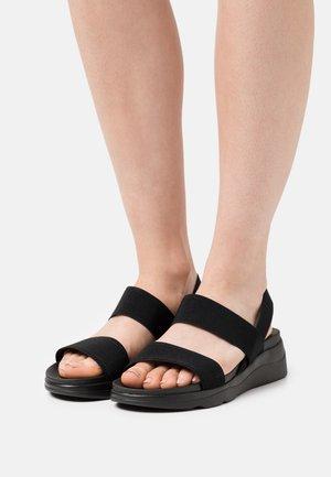 ELISA - Platform sandals - black