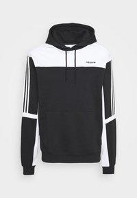 adidas Originals - CLASSICS HOODY - Hoodie - black/white - 4