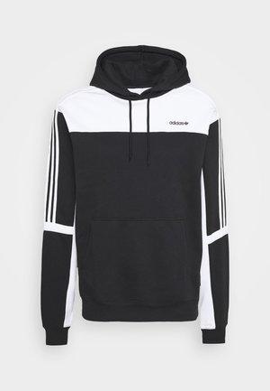 CLASSICS HOODY - Huppari - black/white