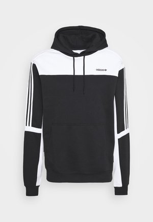 CLASSICS HOODY - Kapuzenpullover - black/white