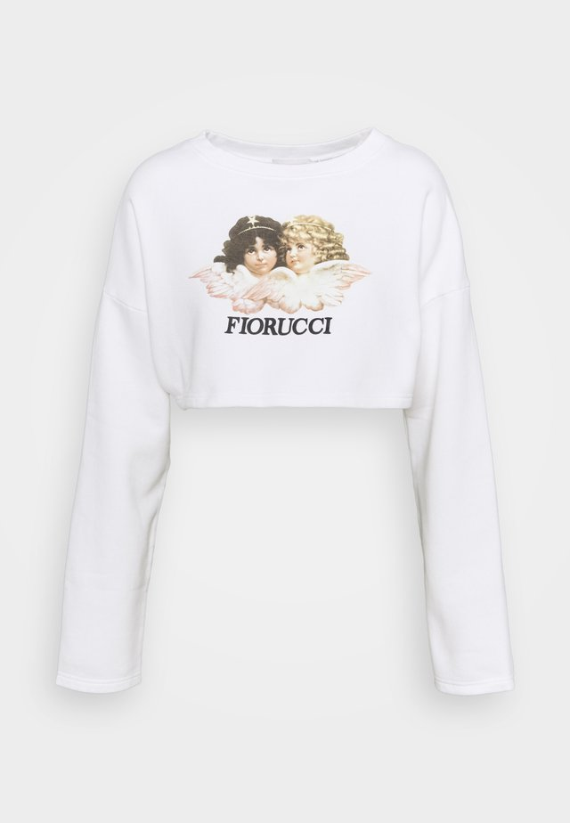 VINTAGE ANGELS CROPPED  - Sweatshirt - white