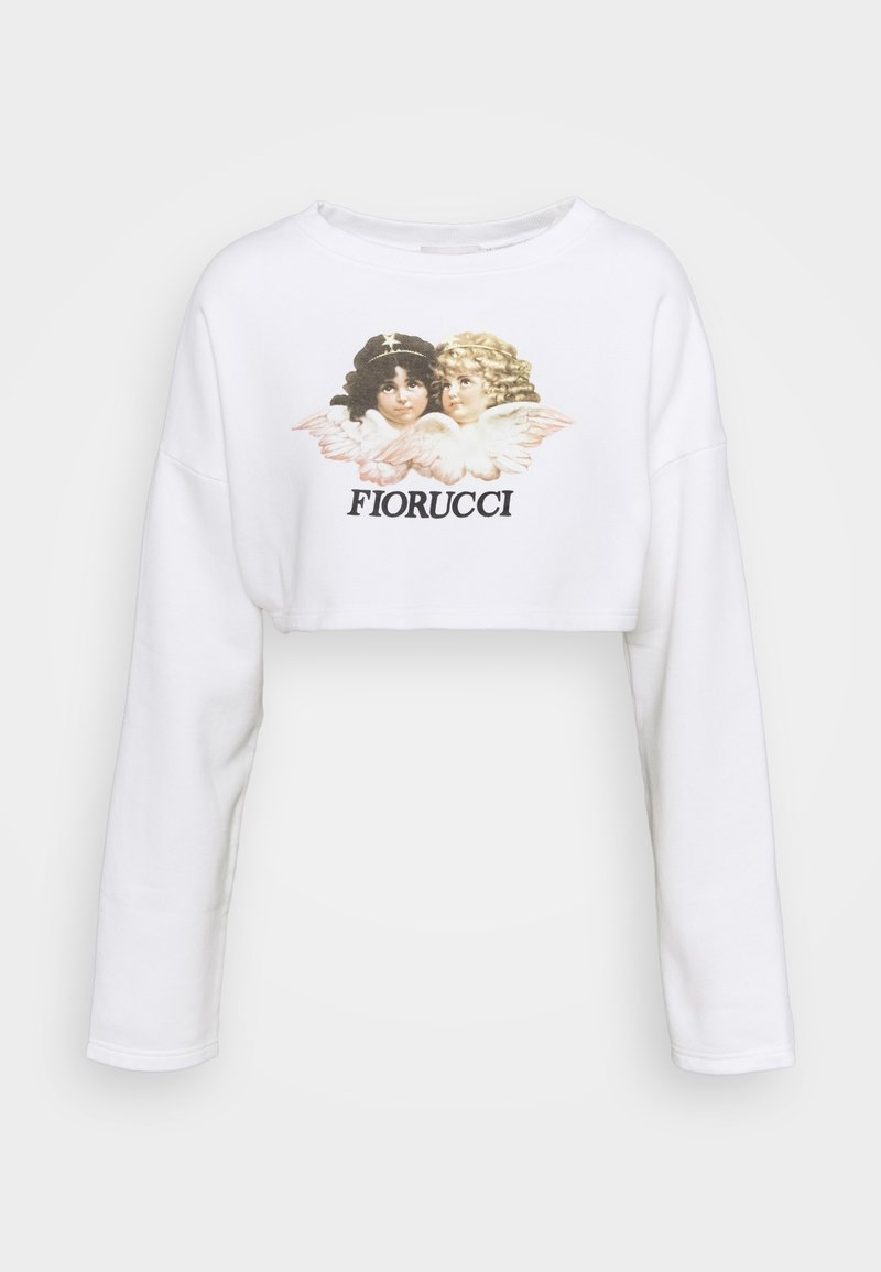 Fiorucci - VINTAGE ANGELS CROPPED  - Felpa - white