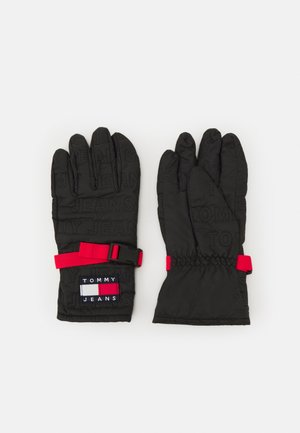 CLIP GLOVES - Gloves - black