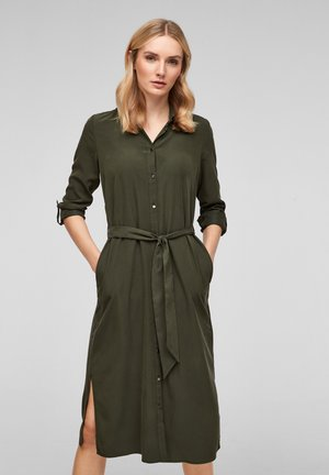 Shirt dress - khaki