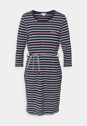 APPLECROSS DRESS - Vestito di maglina - navy