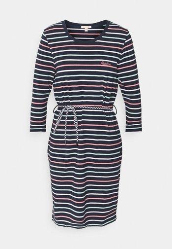 APPLECROSS DRESS - Jersey dress - navy