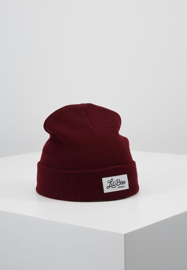 CLASSIC BEANIE - Muts - burgundy