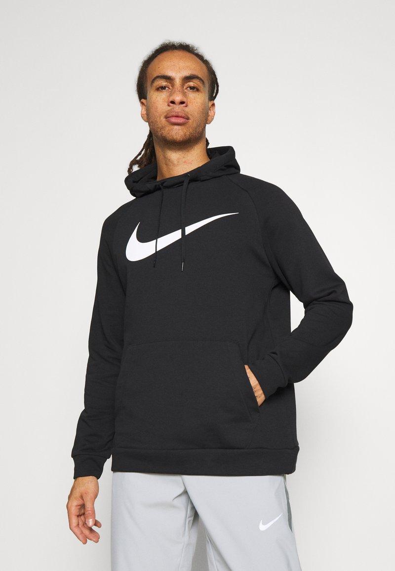 Nike Performance - Sweat à capuche - black/white