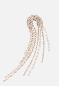Pieces - PCZANGO EARRINGS - Earrings - gold-coloured/clear - 2