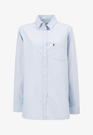 OXFORD - Button-down blouse - light blue