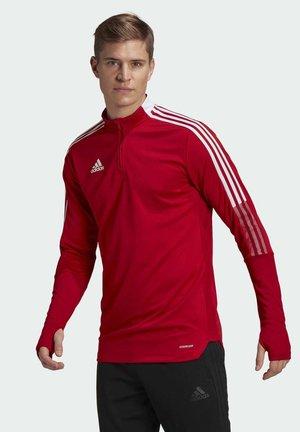 TIRO 21 TRAINING TOP - Training jacket - red