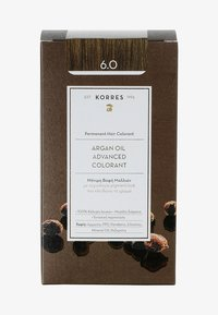 Korres - ARGAN OIL ADVANCED COLORANT - Hair colour - 6.0 dark blonde - 0