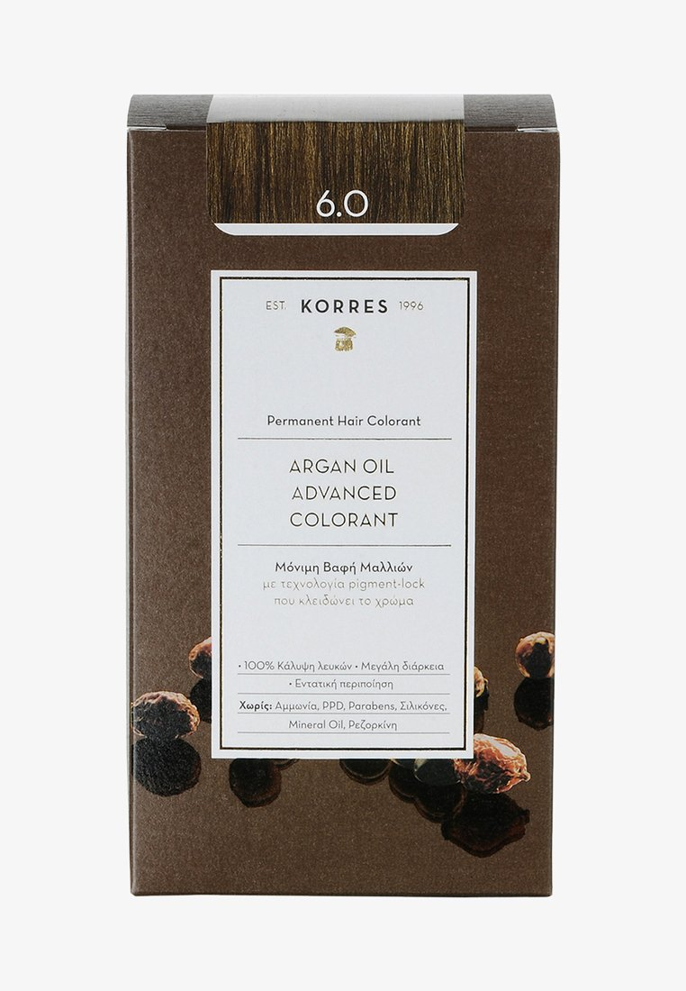 Korres - ARGAN OIL ADVANCED COLORANT - Hair colour - 6.0 dark blonde