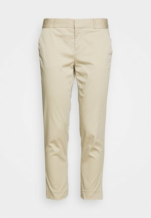 ANKLE  - Trousers - golden beige