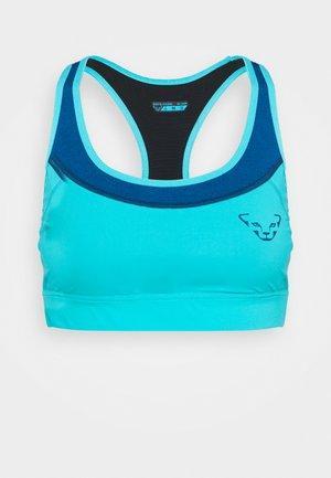 REACT BRA - Reggiseno sportivo con sostegno medio - neon blue