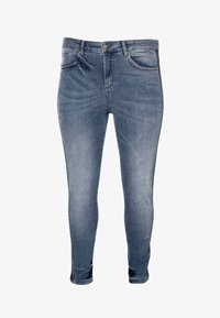No.1 by Ox - GLITTERY - Slim fit jeans - mid blue - 4
