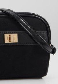 New Look - ERNEST MINI X BODY - Across body bag - black - 3