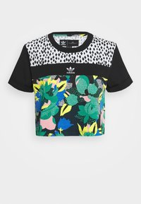 adidas Originals - CROPPED TEE - T-shirt print - multi coloured - 4