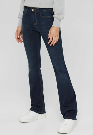 Bootcut jeans - blue dark washed