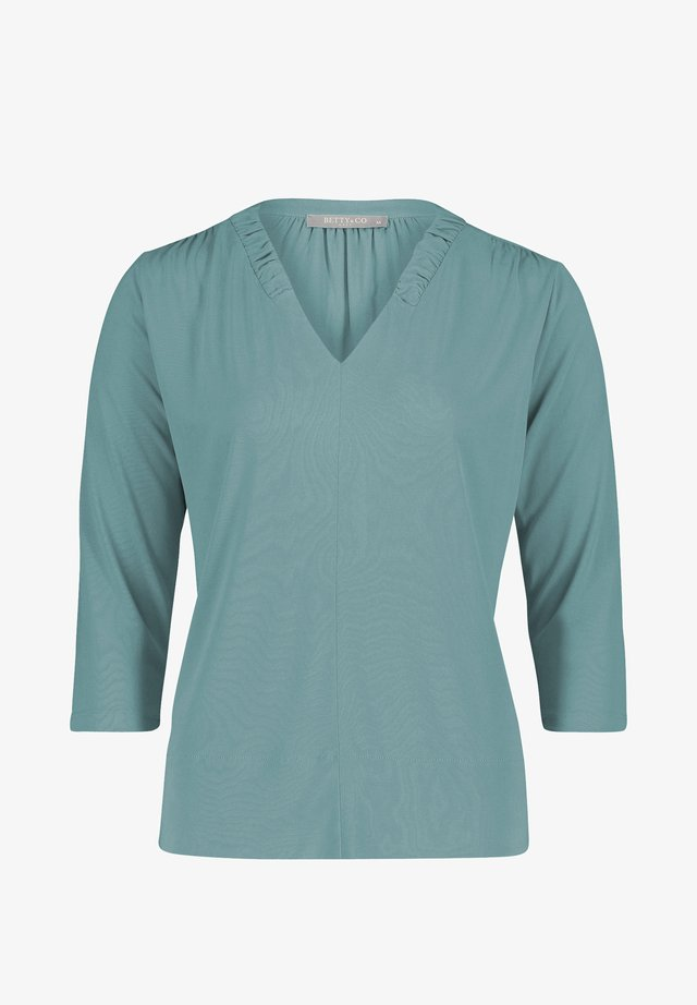Blouse - mineral blue