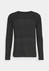DALE - Stickad tröja - black