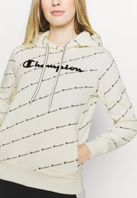 Champion - HOODED LEGACY - Hoodie - off white - 5