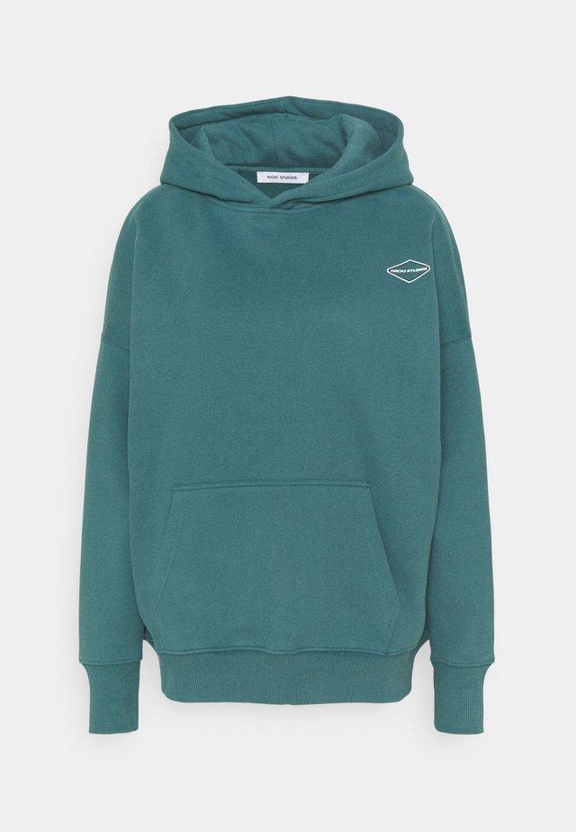 LOGOHOODIE - Sweatshirt - swampgreen