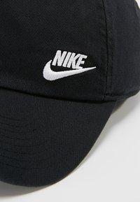 Nike Sportswear - W NSW H86 CAP FUTURA CLASSIC - Cap - black/white - 5