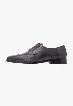 MOSAIC - Smart lace-ups - anthracite