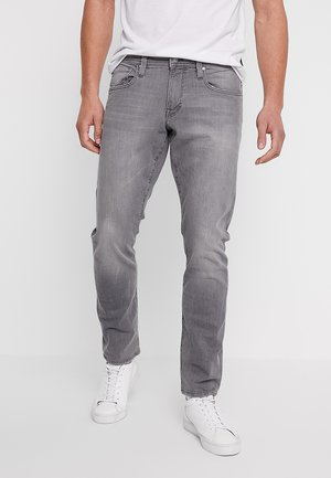 Slim fit jeans - grey light wash