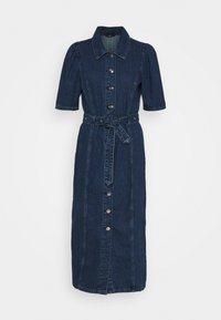 ONLY - ONLCLARITY LIFE PUFF - Vestito di jeans - dark blue denim - 6