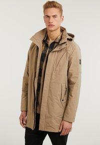 CHASIN' - SATURN LIGHT - Short coat - beige - 3