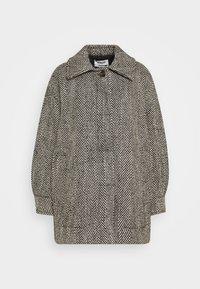 Weekday - CARLI JACKET - Short coat - black/white - 5