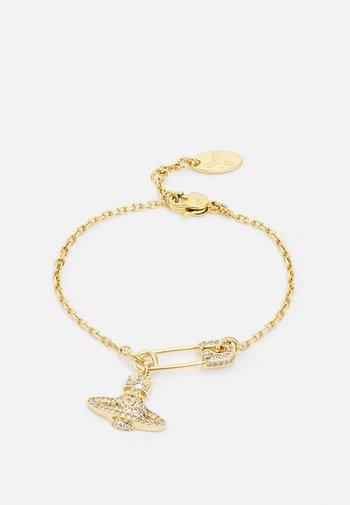 LUCRECE BRACELET - Bracelet - gold-coloured/white