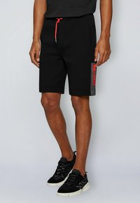 BOSS - HEADLO - Shorts - black - 0