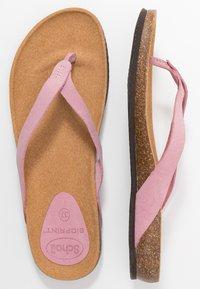 Scholl - TISTOIS - Sandalias de dedo - rose clair - 3