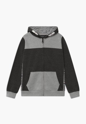 TEEN BOYS - Zip-up hoodie - dark grey
