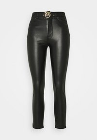 Pinko - SUSAN TROUSERS - Kalhoty - black - 0