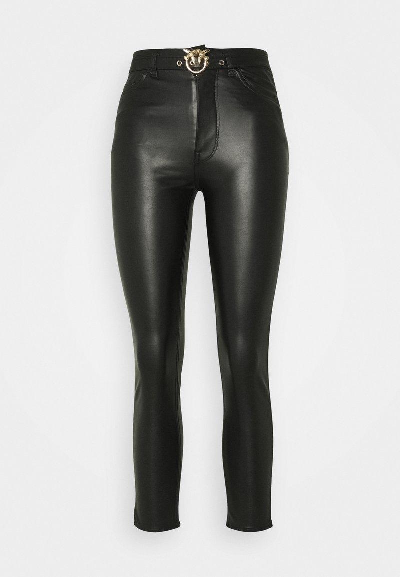 Pinko - SUSAN TROUSERS - Kalhoty - black