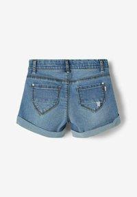 Name it - Jeans Shorts - medium blue denim - 1
