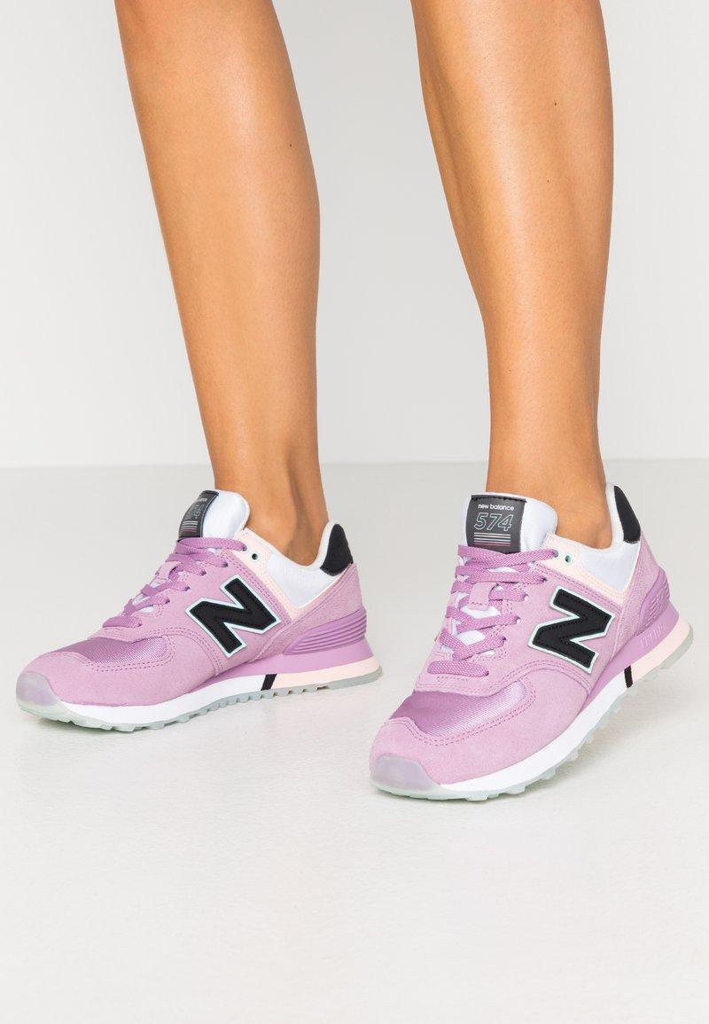 New Balance - WL574 - Trainers - purple