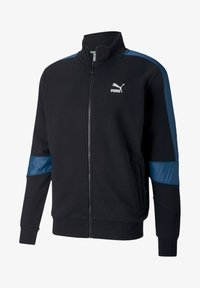 Puma - Training jacket - black-digi-blue - 3
