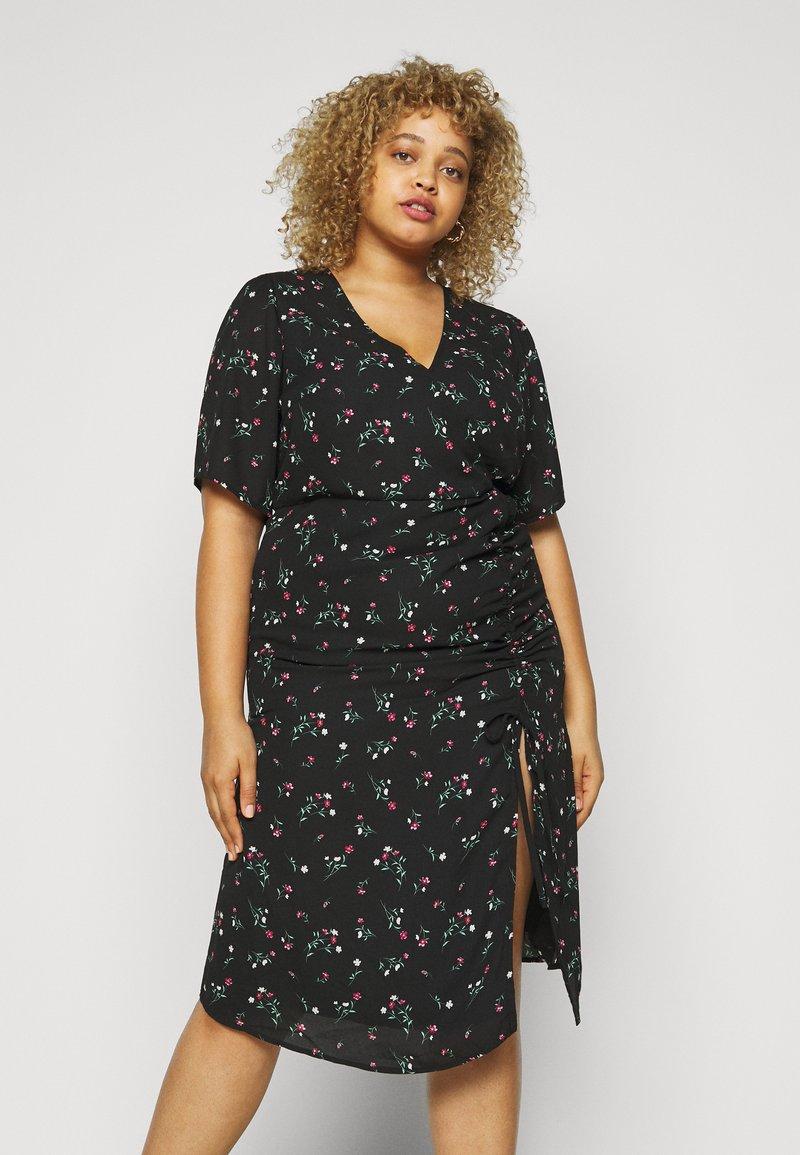 Fashion Union Plus - CORA DRESS - Day dress - black