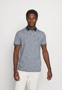 Pier One - Polo shirt - mottled dark blue - 1