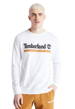 LS ESTABLISHED 1973 - Langærmede T-shirts - white-wheat boot