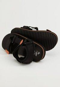 Mango - MET  - Sandals - zwart - 3