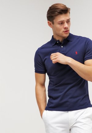 SLIM FIT - Polo shirt - newport navy