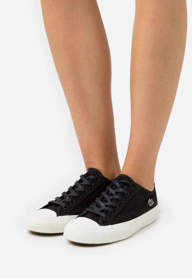 Lacoste - TOP SKILL  - Trainers - black/offwhite