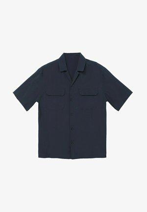 MIT TASCHEN - Košile - dunkles marineblau